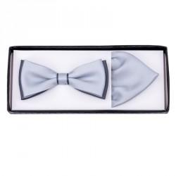 Manžetové knoflíčky stříbrné barvy Assante 90539