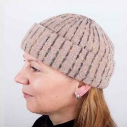 Světle hnědá dámská elegantní čepice Tonak 87311