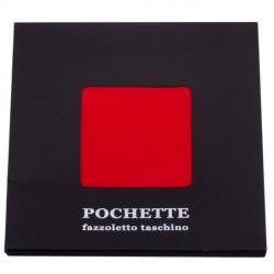 Červený kapesníček do saka Assante 90622