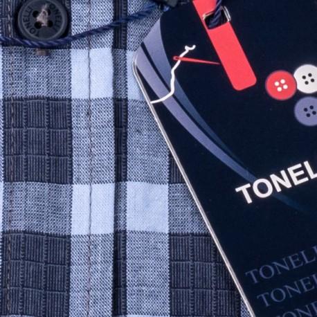 Nadměrná košile zelená dlouhý rukáv Tonelli 110917