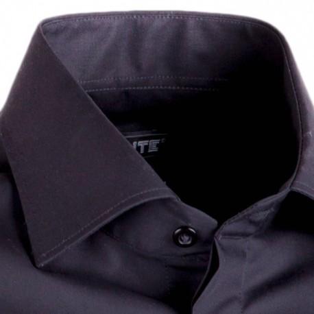 Černá pánská košile na manžetový knoflík Assante 30150