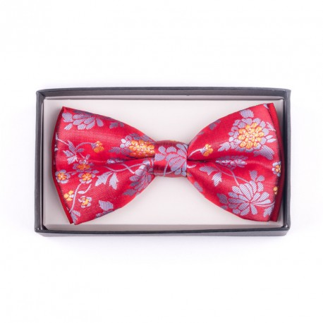 Pánský motýlek barva červenomodrá Assante 90269