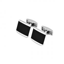 Manžetové knoflíčky stříbrné barvy Assante 90514