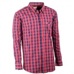 Černá pánské košile dlouhý rukáv rovný střih Tonelli 110986