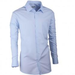 Modrá pánská košile s dlouhým rukávem Aramgad 30481