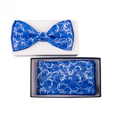 Pánský motýlek barva modrá Assante 90343