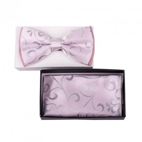 Pánský motýlek barva růžová Assante 90344