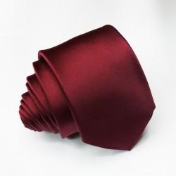 Hnědá jednobarevná kravata Roberto Gabbani 99936