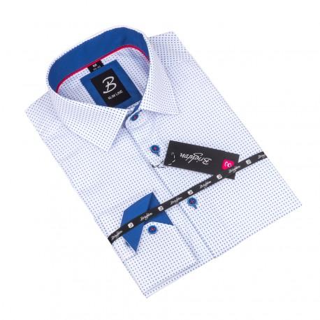 Košile Brighton bílo modrá 110097