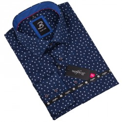 Nadměrná košile Brighton modrá 110045