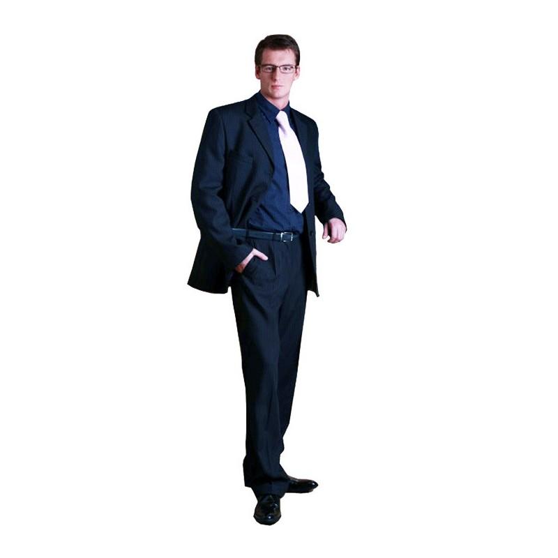 Pánský šedý oblek zkrácený na výšku 170 - 176 cm Galant 160600, Velikost 56