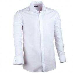 Bílá košile rovná pánská Assante 30026
