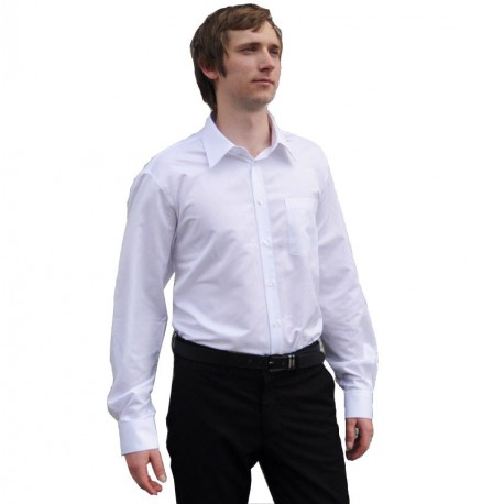 Bílá košile Assante pánská vypasovaná 30004