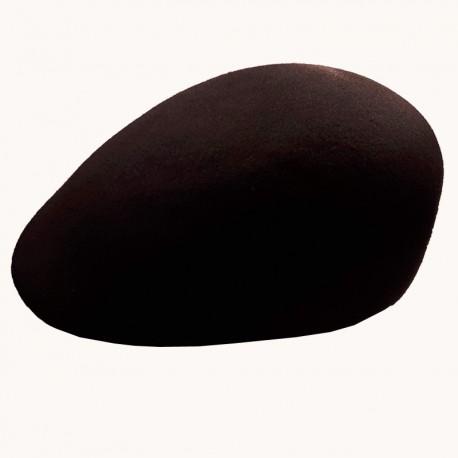 Černá bekovka pánská z tvrzené plsti 100% vlna Assante 85210