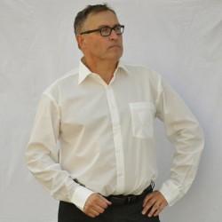 Frakovka pánská košile 100 % bavlna šampaň Assante 30208