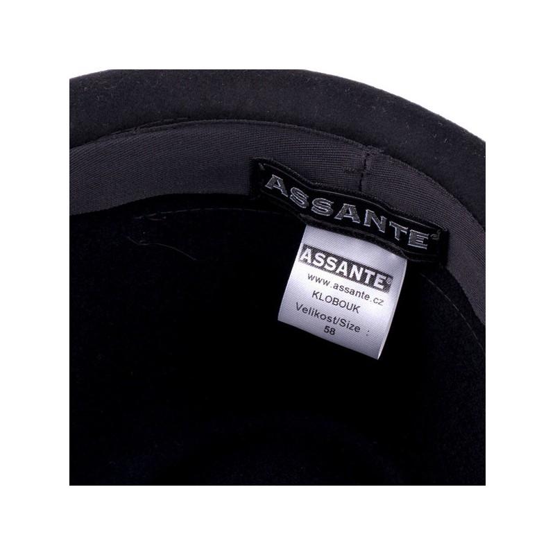 Černé pánské ponožky antibakteriální se stříbrem Assante 71201, Velikost 26-28