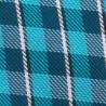 Prodloužená košile bílá modrý pruh Assante 20616