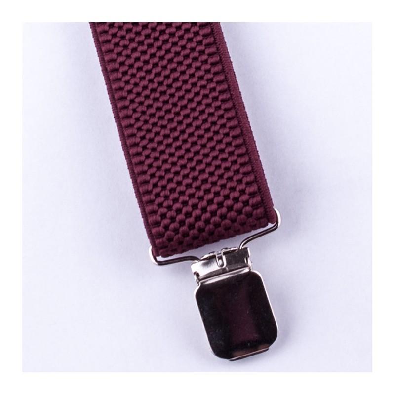 Slim fit červená kravata Greg 99310, Velikost Uni
