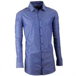 Světle modrá slim fit kravata Greg 99145