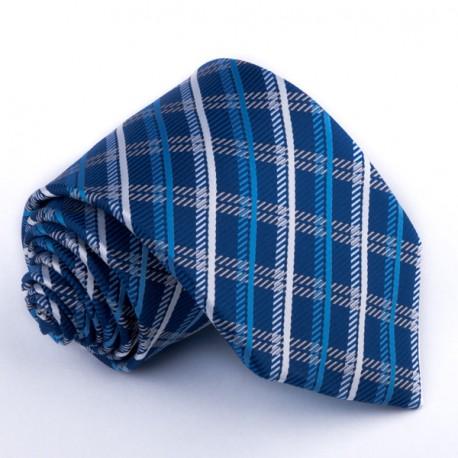 Pánská modrá kravata Greg 94137